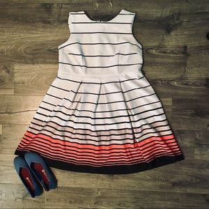 Striped Dress (Size 20)